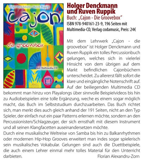 CAJON <br /> Die Groovebox