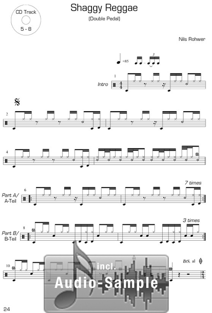 DRUM Play-Alongs <br /> Band 1